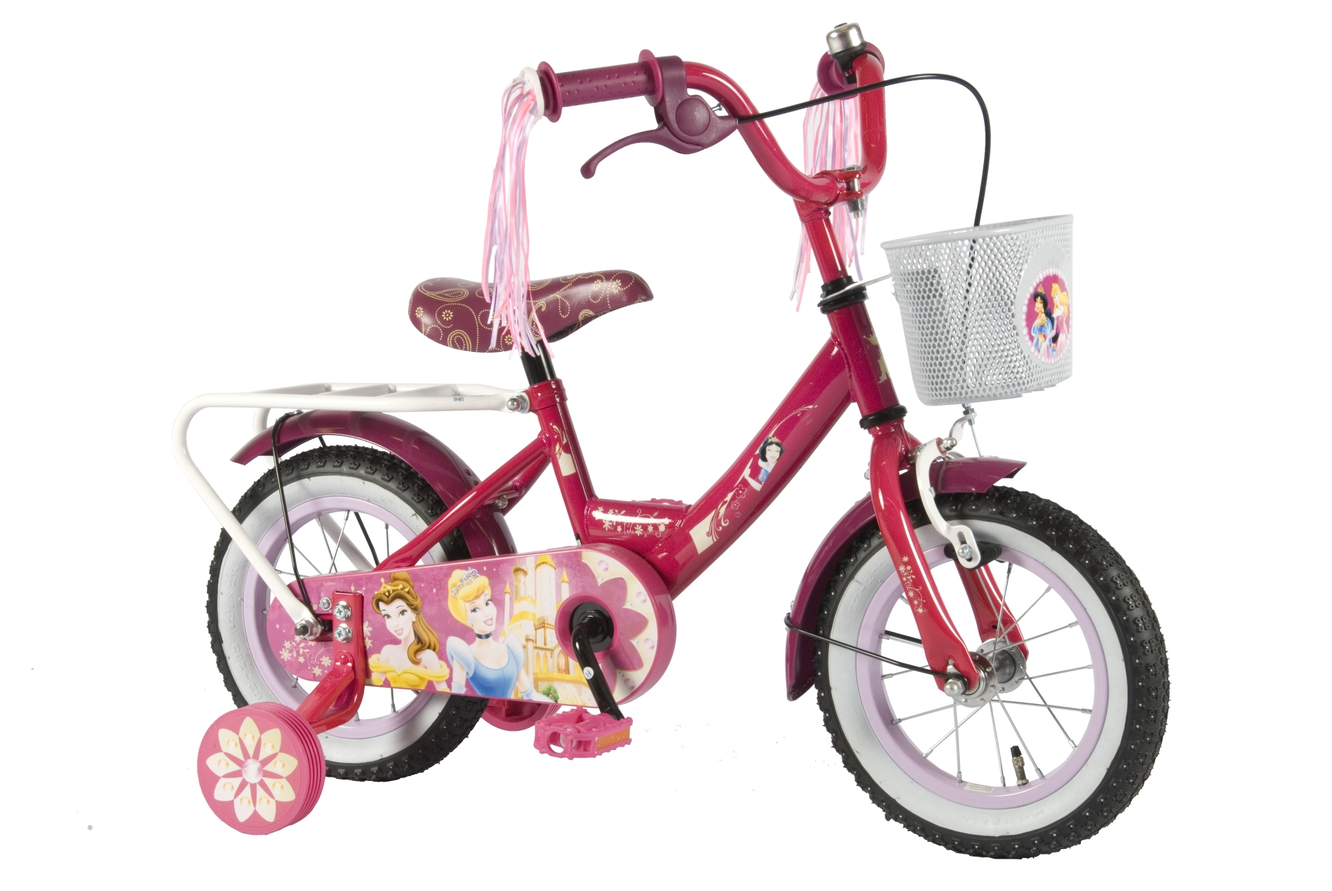 12 zoll kinder fahrrad m dchen rad disney prinzessin mit. Black Bedroom Furniture Sets. Home Design Ideas